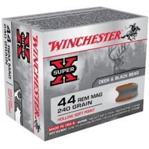 Winchester Super-X 44 Rem Mag 240gr HSP 20/bx