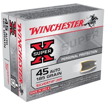Winchester Silvertip 45 Auto 185gr JHP 20/bx' data-lgimg='{