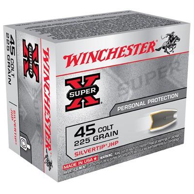 Winchester Ammo 45 Colt Super-X 225gr STHP