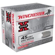 Winchester Super-X 45 Colt 255gr LRN 20/bx