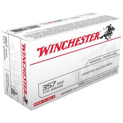 Winchester USA 357 Mag 110gr JHP 50/bx' data-lgimg='{