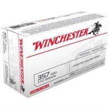 Winchester USA 357 Mag 110gr JHP 50/bx