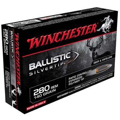 Winchester Ammo 280 Rem 140gr BST Ballistic Silver Tip