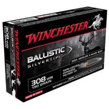 Winchester Ammo 308 Winchester 150gr BST Ballistic Silver Ti