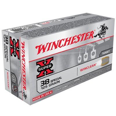Winchester Ammo 38 SPL 125gr JSP Winchester Clean' data-lgimg='{