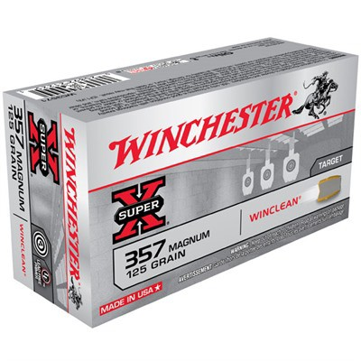 Winchester Super-X Winclean 357 Mag 125gr 50/bx