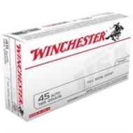 Winchester Ammo 45 ACP USA 185gr FMJ