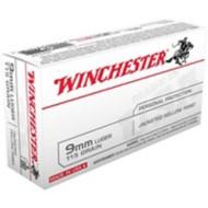 Winchester Ammo 9mm Luger USA 115gr JHP