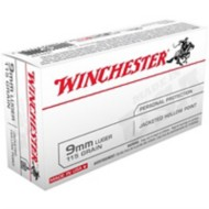Winchester Ammo 9mm Luger USA 115gr JHP
