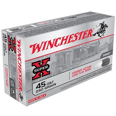 Winchester Ammo 45 Colt 250gr Lead Cowboy Actio