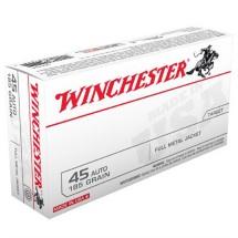 Winchester Ammo 45 ACP 230gr. FMJ Bulk Pk.