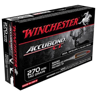 Winchester Ammo 270 140gr AccuBond CT