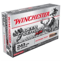 Winchester Deer Season XP 243 Win 95gr Extreme Point 20/bx