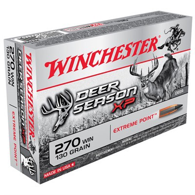 Winchester Deer Season XP 270 Win 130gr Extreme Point 20/bx