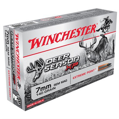 Winchester Deer Season XP 7mm Rem 140gr Extreme Point 20/bx