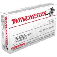 Winchester Ammo 5.56 NATO 55gr, FMJ 180rds/20bx