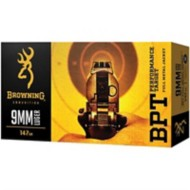 Browning 9mm Luger 147gr JHP 20/Box