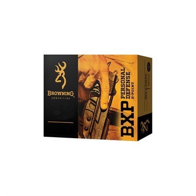 Browning 40 S&W 180gr JHP 20/Box