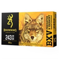 Browning Ammo BXV - .243 Win 65 gr 3400 FPS 20bx