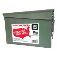 Winchester Ammo 9mm 115 gr FMJ 500 rd Can