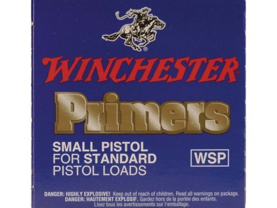 Winchester Small Regular Pistol #1-1/2 Primer Brick