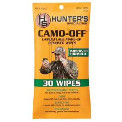 Camo-Off Make-Up Remover Pads 30 Wipes' data-lgimg='{
