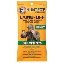 Camo-Off Make-Up Remover Pads 30 Wipes