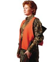 Hunter's Specialties Adult Blaze Orange Safety Vest