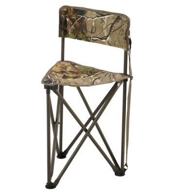 Hunter's Specialties Tripod Chair with Back' data-lgimg='{