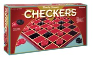 Pressman Classic Checkers Board Game