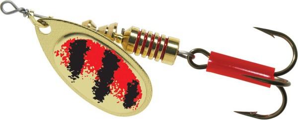 Gold/Red Black Stripe