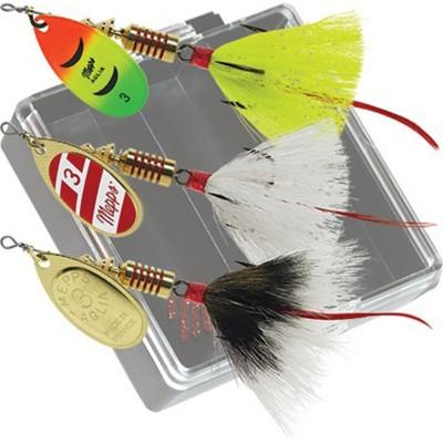 Mepps Bass Pocket Pac Kit #3 Aglia Dressed