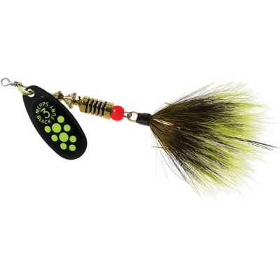 Chartreuse Dot Blade with Grey/Chartreuse Tail