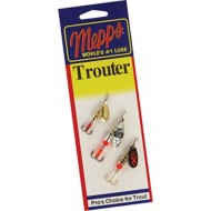 Mepps Trouter Pack Plain Spinners 3 Pack