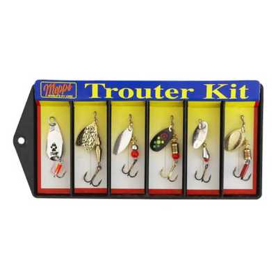Mepps 6-Lure Trouter Kit