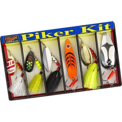 Mepps Piker Kit Plain and Dressed Lure