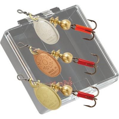 Mepps Panfish Pocket Pac Kit #0 Aglia Plain