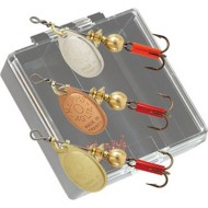 Mepps Panfish Pocket Pac Kit #0 Aglia Plain