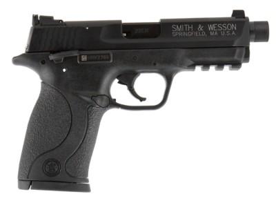Smith & Wesson M&P Compact Threaded Barrel 22 LR Handgun' data-lgimg='{