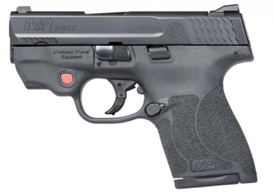 Smith & Wesson M&P Shield M2.0 Integrated Crimson Trace Red Laser NTS 9mm Handgun' data-lgimg='{