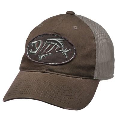 G.Loomis Distressed Oval Mesh Back Hat' data-lgimg='{