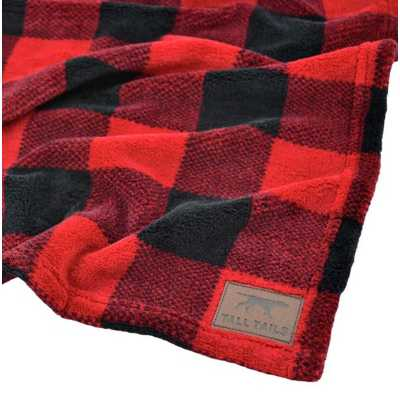 Tall Tails Hunter's Plaid Blanket