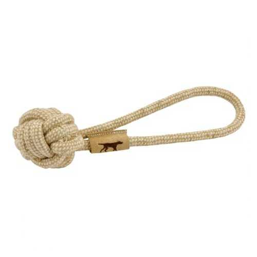 Tall Tails Natural Cotton and Jute Tug Toy