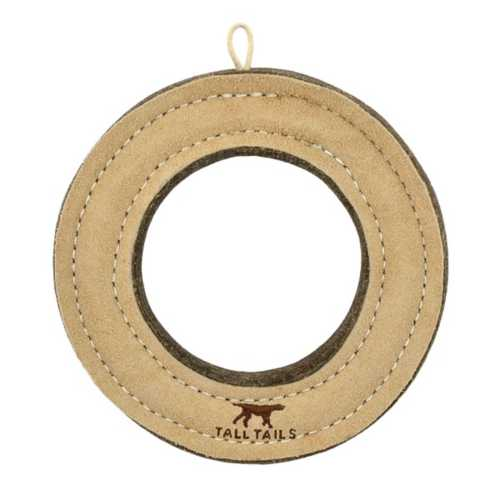 Tall Tails Natural Wool Ring Toy