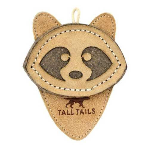 Tall Tails Scrappy Raccoon Dog Toy