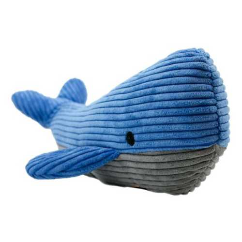 Tall Tails Whale with Squeaker Dog Toy
