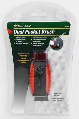 Charter Products Golf Dual Pocket Brush