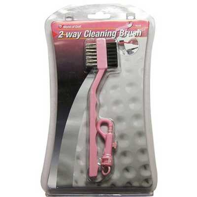 JEF World of Golf Dual Cleaning Brush