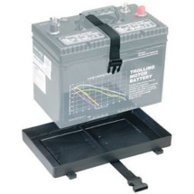 Attwood Battery Tray with Strap 24 Series