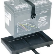 Attwood Battery Tray with Strap 27 Series